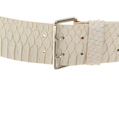 Furla Belt in reptile leather look