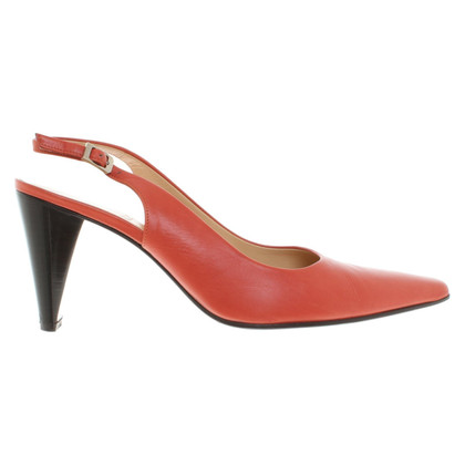 Bally pumps in red