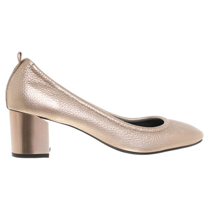 Lanvin Goldfarbene Pumps
