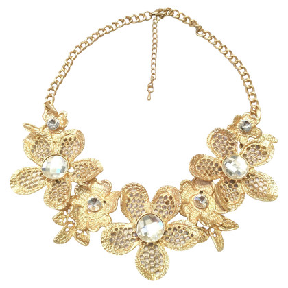 Valentino Necklace with flowers