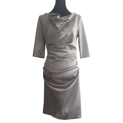 Talbot Runhof Cocktail dress in silver