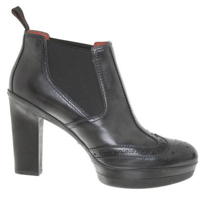 Santoni Boots in zwart