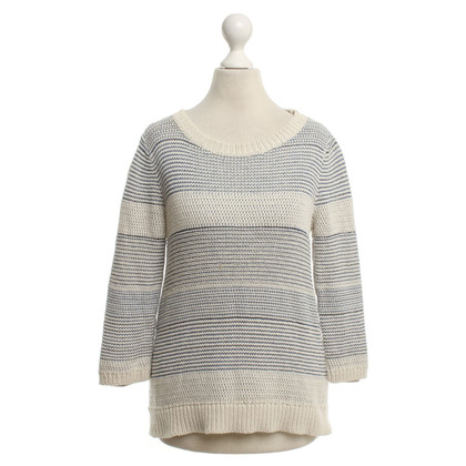 Comptoir des Cotonniers Knitted sweater with striped pattern