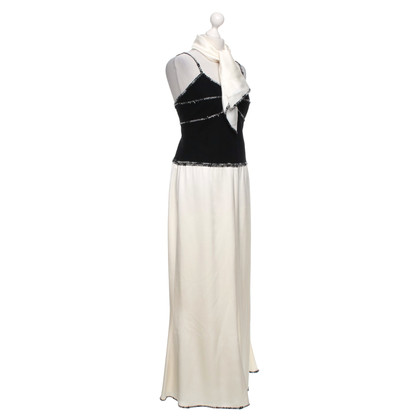 Chanel Maxi dress with scarf