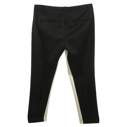 Schumacher trousers in Black / White