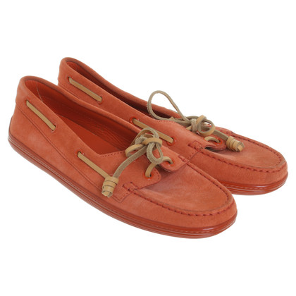 Tod's Loafer in Orange