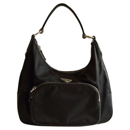 Prada Schouder tas in zwart