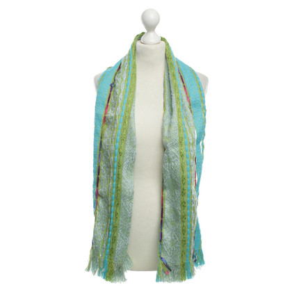 Kenzo Scarf with colourful patterns