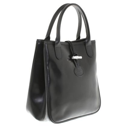 Longchamp Kleine Handtasche in Schwarz
