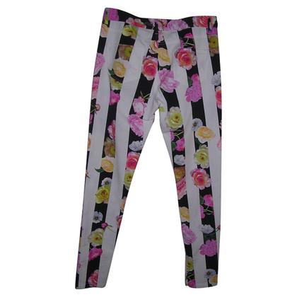 MSGM  jeans floral print