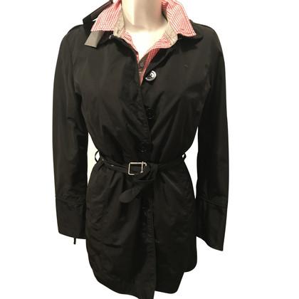 Calvin Klein Black raincoat