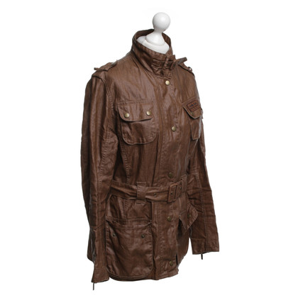 Barbour Wax jacket in ocher