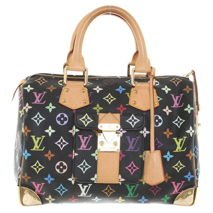 "Louis Vuitton ""Speedy 30 Monogram Multicolore Noir"""