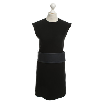 Céline Kleid mit Ledergürtel