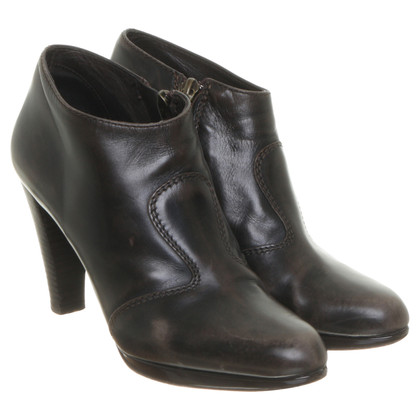 René Lezard Ankle boots in Brown