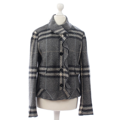 Burberry Jacke mit Check-Muster