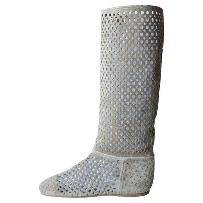 Prada Perforated boots