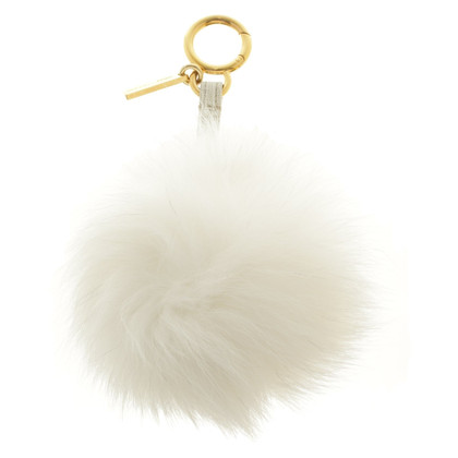 Fendi Key ring in white