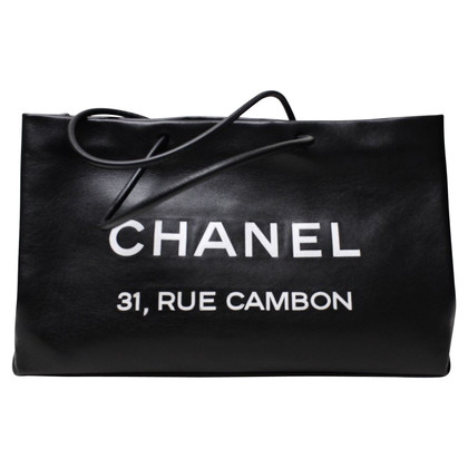 """Chanel """"Rue Cambon Tote"""""""