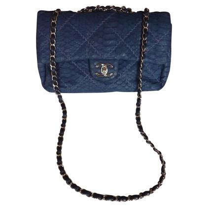 "Chanel ""2.55 Flap Bag Medium"" aus Pythonleder"