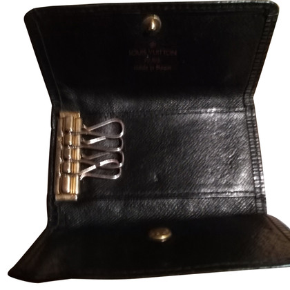 Louis Vuitton key holder from Epi leather