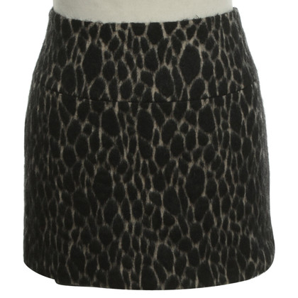 Bash Mini skirt in black / cream