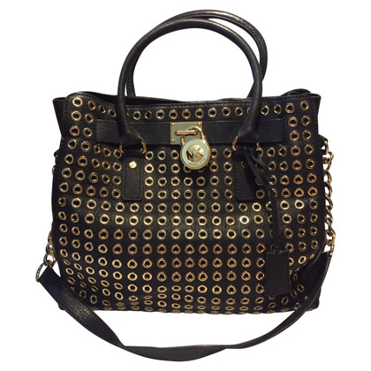 "Michael Kors ""Hamilton Bag"" con rivetti"