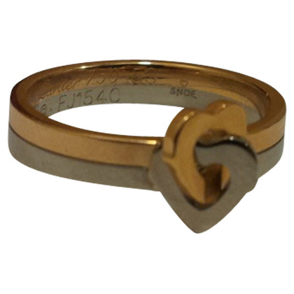 Cartier  Heart Motif Ring