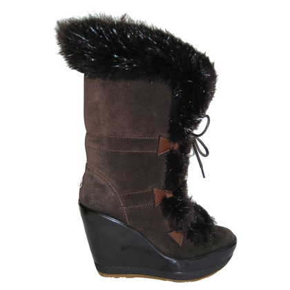 Moncler Boots with real fur