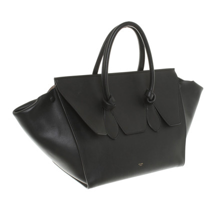 "Céline ""Tie Knot Bag"" in Black"