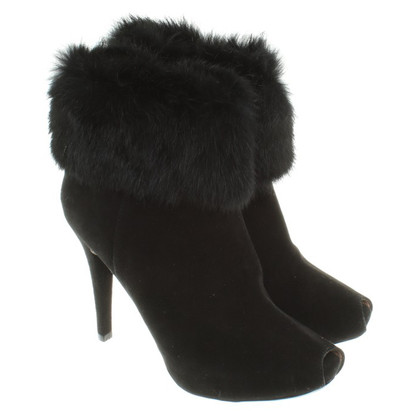 Other Designer Barachini - Ankle boots with fur