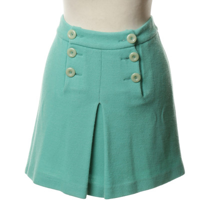 Missoni Mini skirt in turquoise