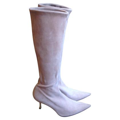 Sergio Rossi stivali di pelle di pecora