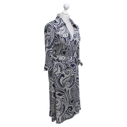 Diane von Furstenberg Wrap dress with paisley pattern