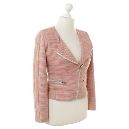 Iro Gedessineerde Blazer in rode tinten
