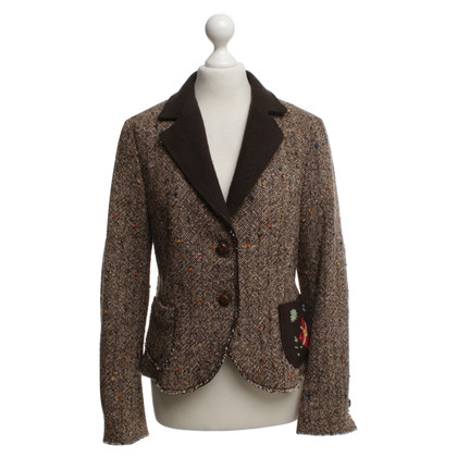 IQ Berlin Blazer in brown
