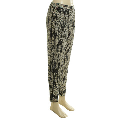 Diane von Furstenberg Silk pants with pattern