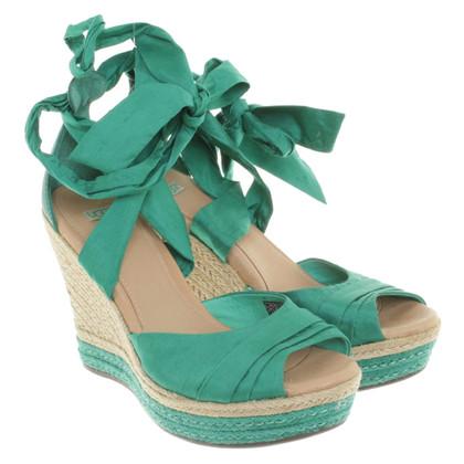 Ugg Sandaletten in Grün