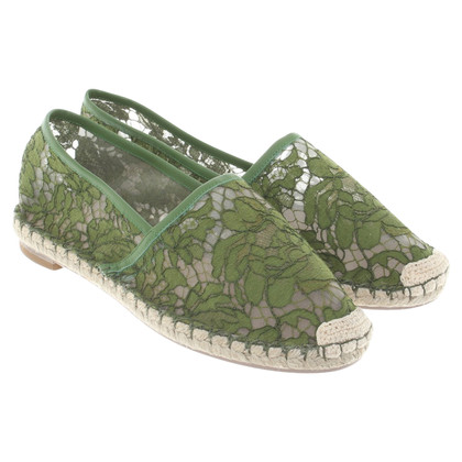 Valentino Espadrilles in green