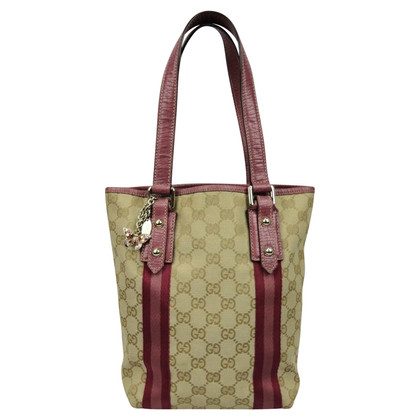 Gucci Tote Bag aus GG Supreme Canvas