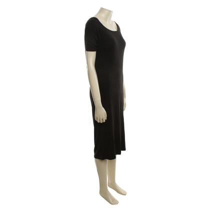 Maison Martin Margiela Jersey dress in black