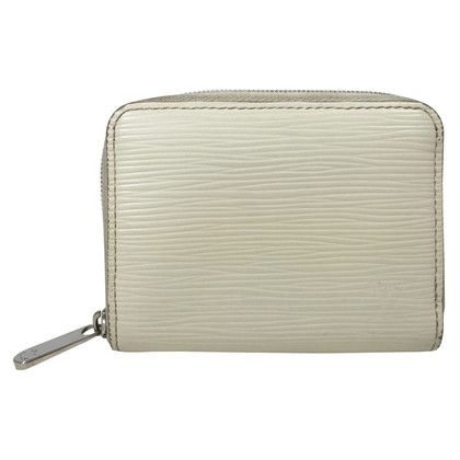 "Louis Vuitton ""Zippy EPI' in white"