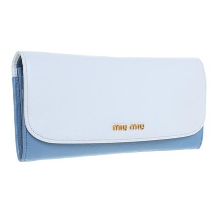 Miu Miu Bag in white and blue