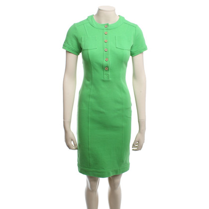 Diane von Furstenberg Short sleeve dress in light green