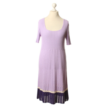 Iris von Arnim Knit dress in Lilac