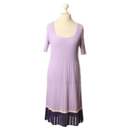 Iris von Arnim Gebreide jurk in Lila