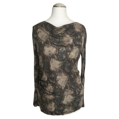 Luisa Cerano T-Shirt with Animalprint