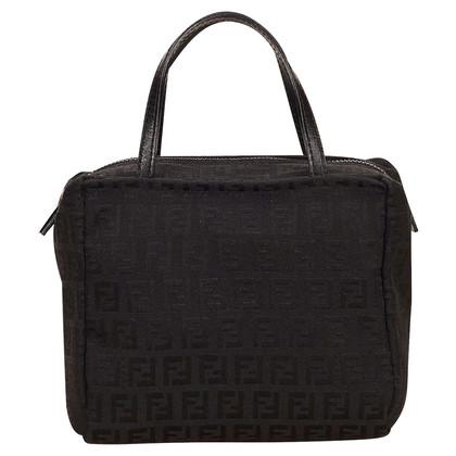 Fendi Fendi Zucchino Jacquard Handbag