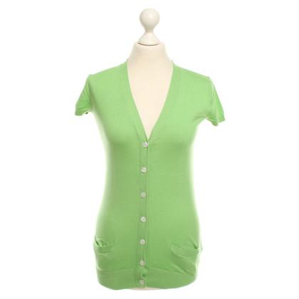 Ralph Lauren Short-sleeved cardigan in green
