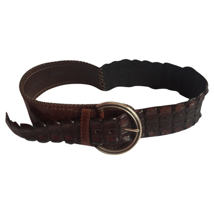 Post & Co Ceinture Croco